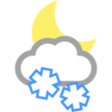 Polojasno, sněhové přeháňky