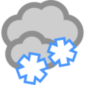 Pochmurnie i przejściowe opady śniegu