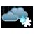 Pilvistä, mahdollisesti vähäistä räntäsadetta