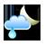 Puolipilvistä, mahdollisesti vähäistä sadetta